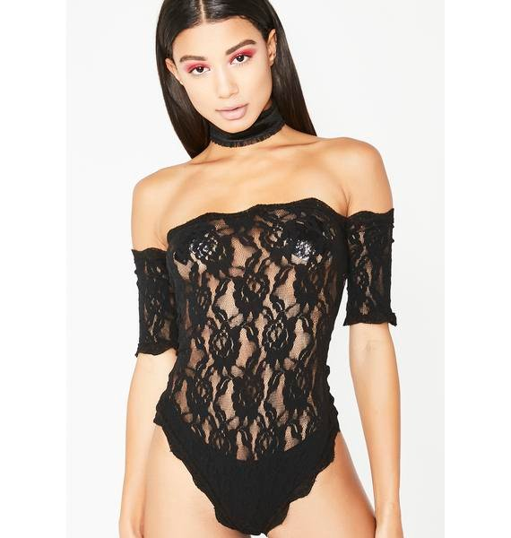 Sweet Surprise Lace Teddy