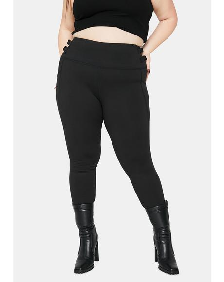Gotta Buckle Down High Waist Leggings