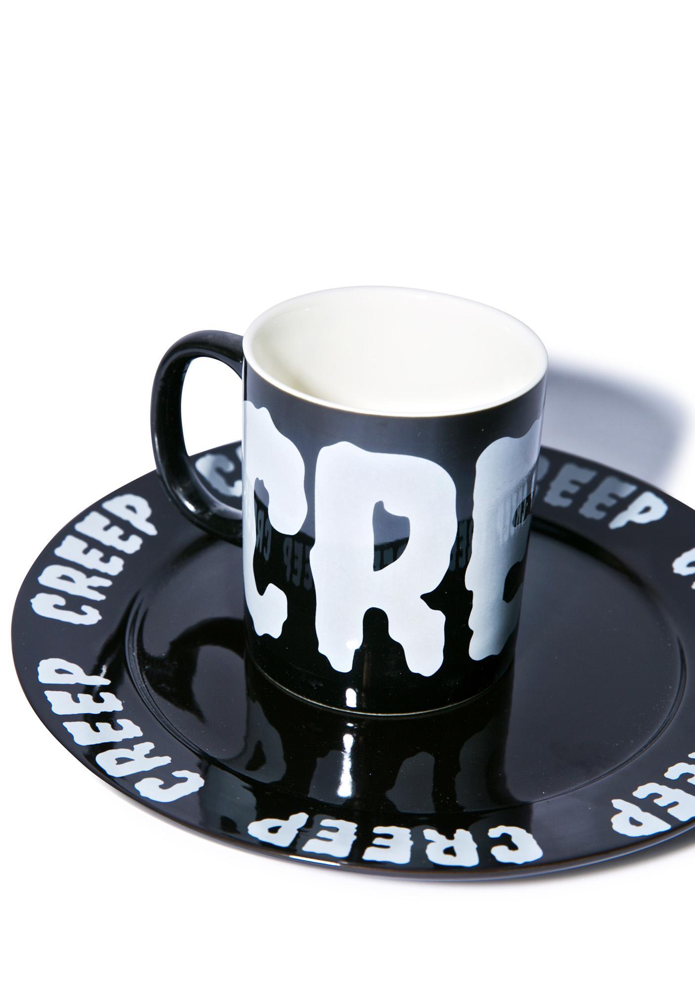 Sourpuss Clothing Creepy Coffee Mug