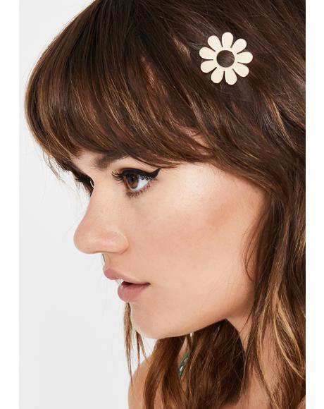 Bloomin' BB Flower Hair Clip