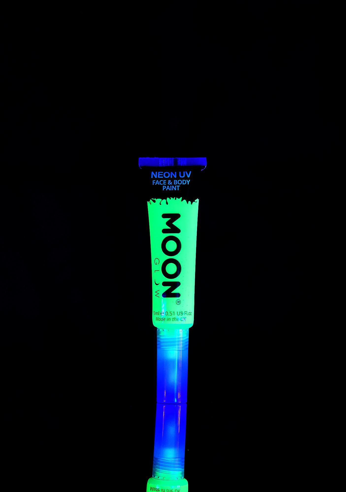 Moon Creations Intense Green Neon UV Face N Body Paint