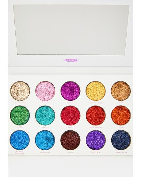 Legendary Glitter Eyeshadow Palette