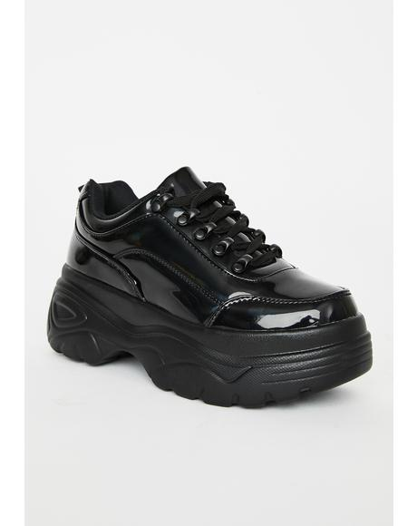 Night Striker Platform Sneakers