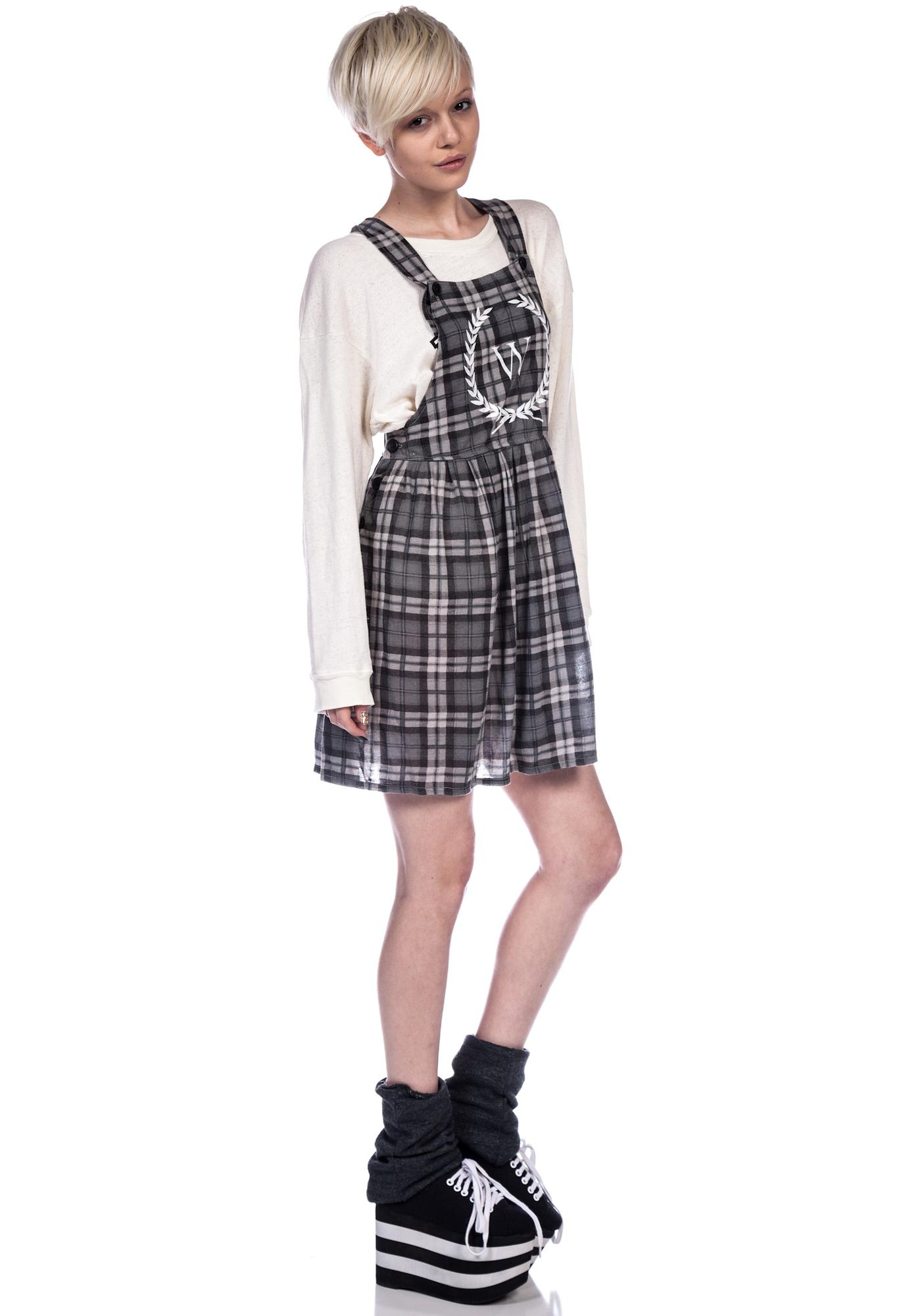 Wildfox Couture Reality Bites Maiden Pinafore Dress