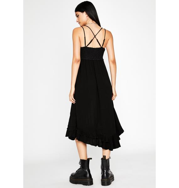 Dark Love Midi Dress