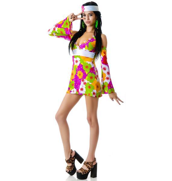 Lip Service Flower Child Dress