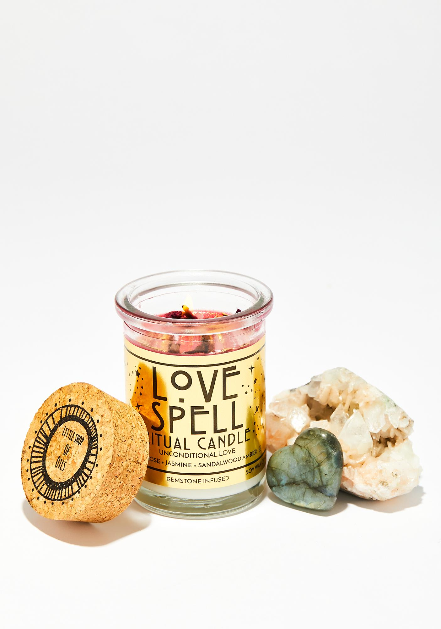 Little Shop of Oils Love Ritual Candle