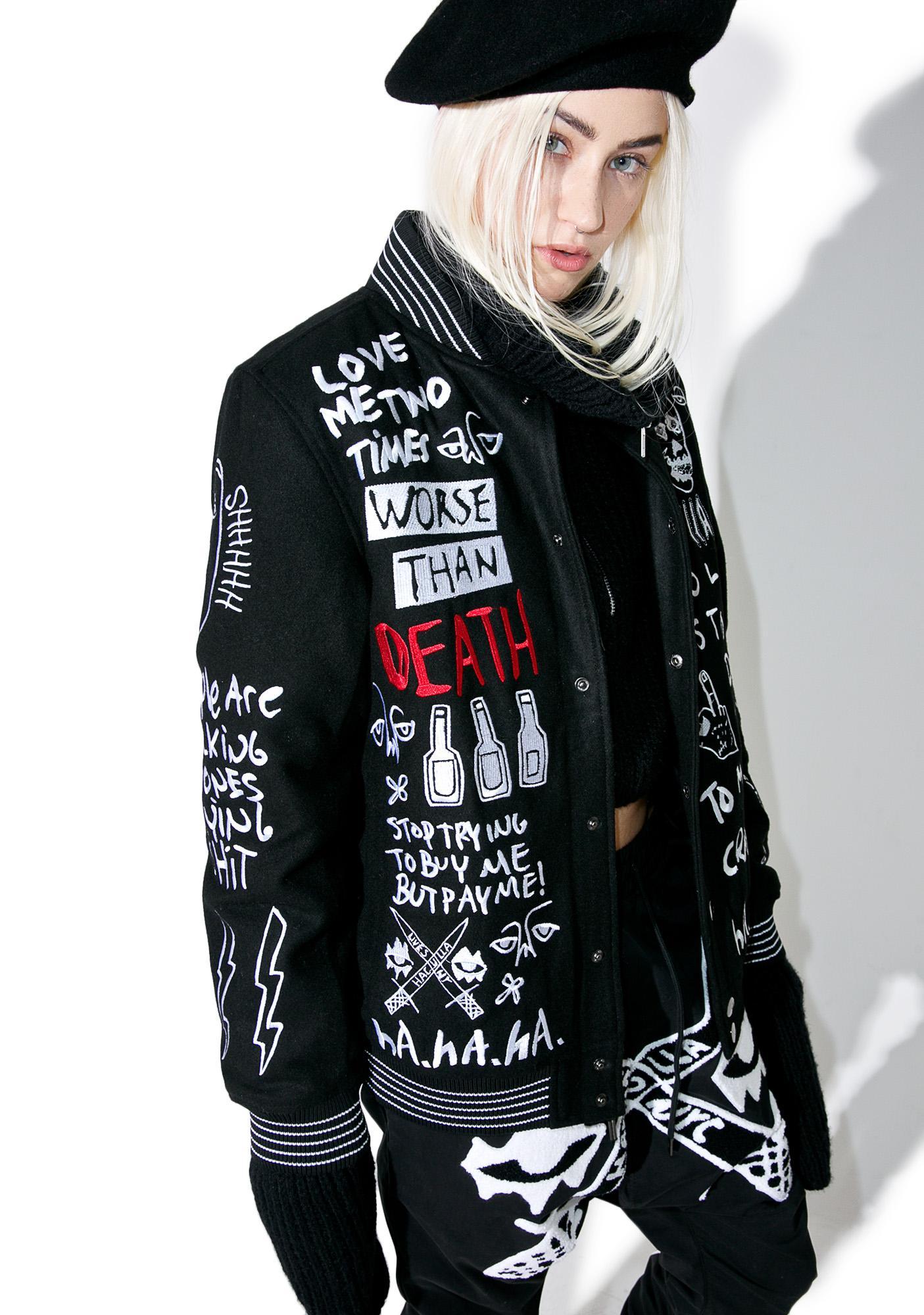 Haculla Collective Varsity Jacket