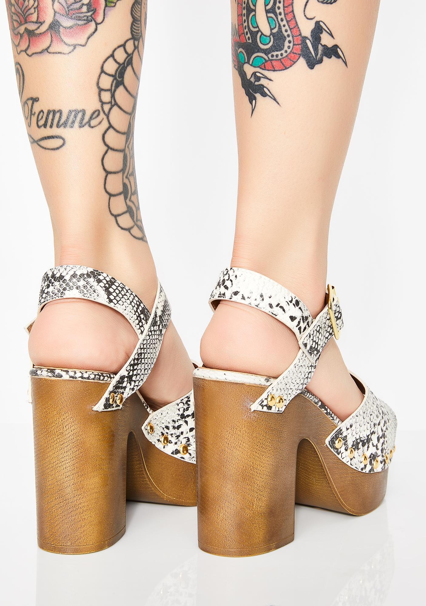Vile Shady Ladies Platform Sandals