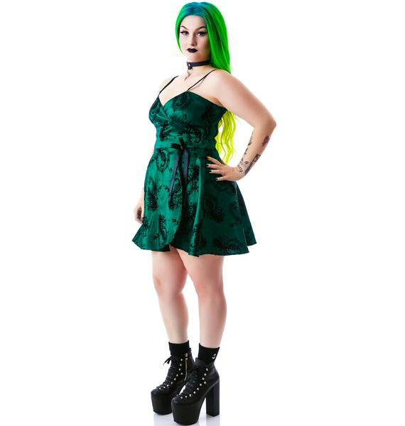 Peacockin' Party Dress