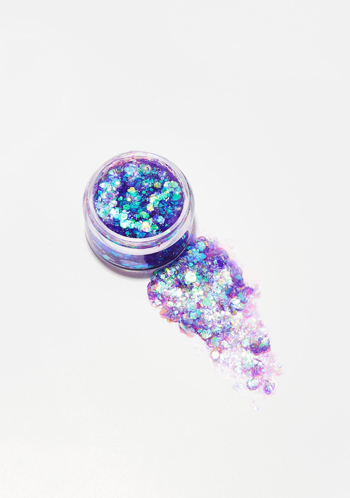 Uniglitter Purple Iridescent Glitter Gel