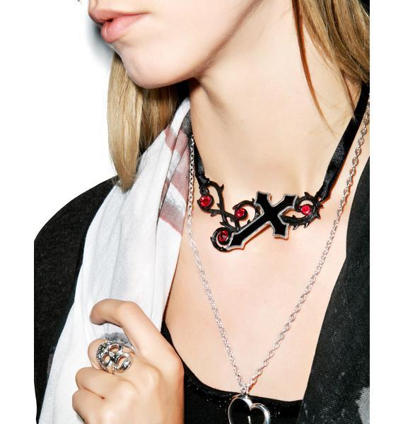The Murnan Cross of Sorrow Necklace