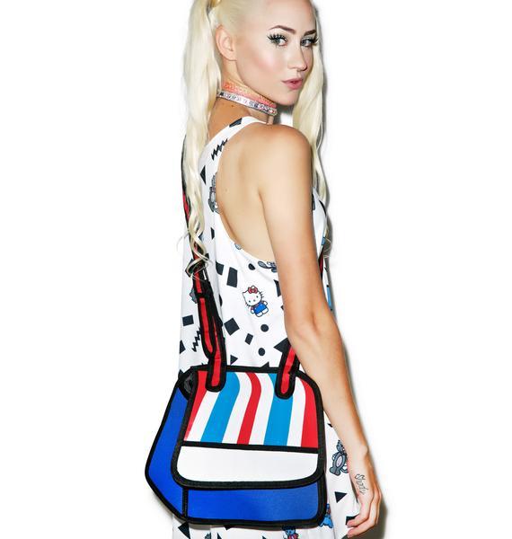 2D Style Cartoon Bag