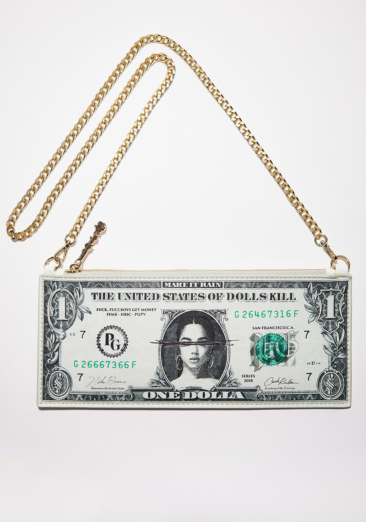 Poster Grl Cash Money Bag
