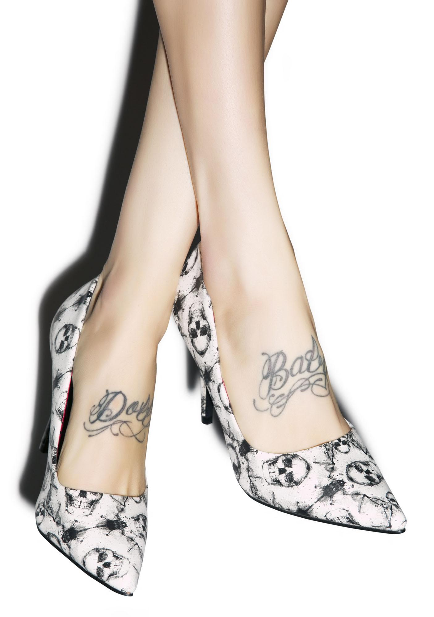Iron Fist Inked Up Heels