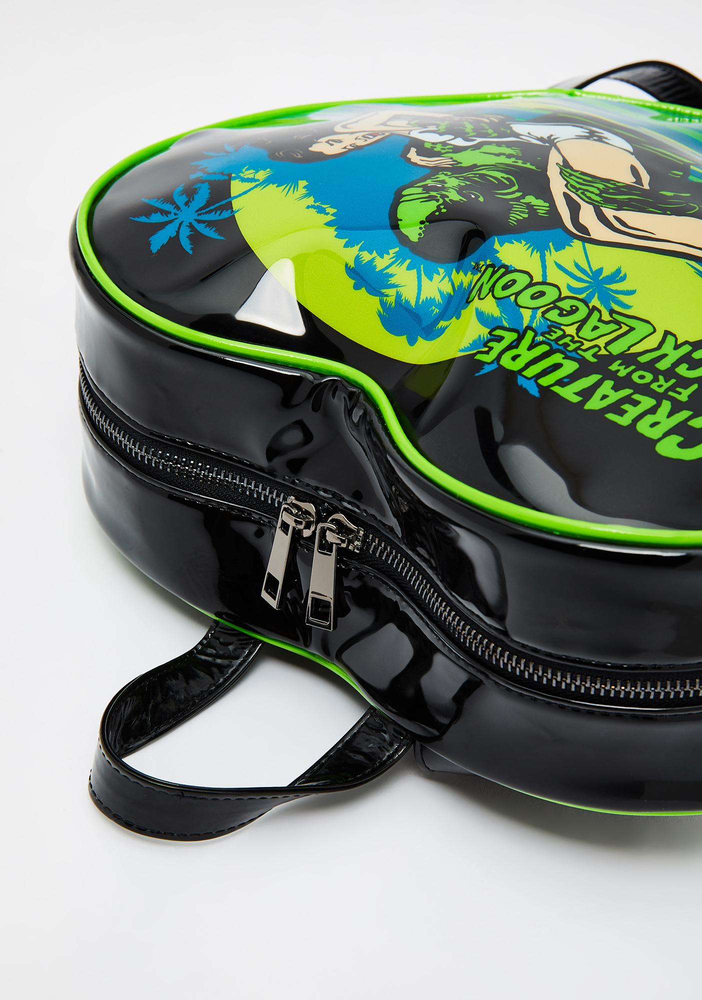 Rock Rebel Creature From The Black Lagoon Backpack