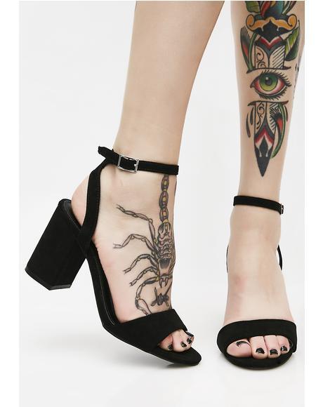 Better Than Eva Block Heels