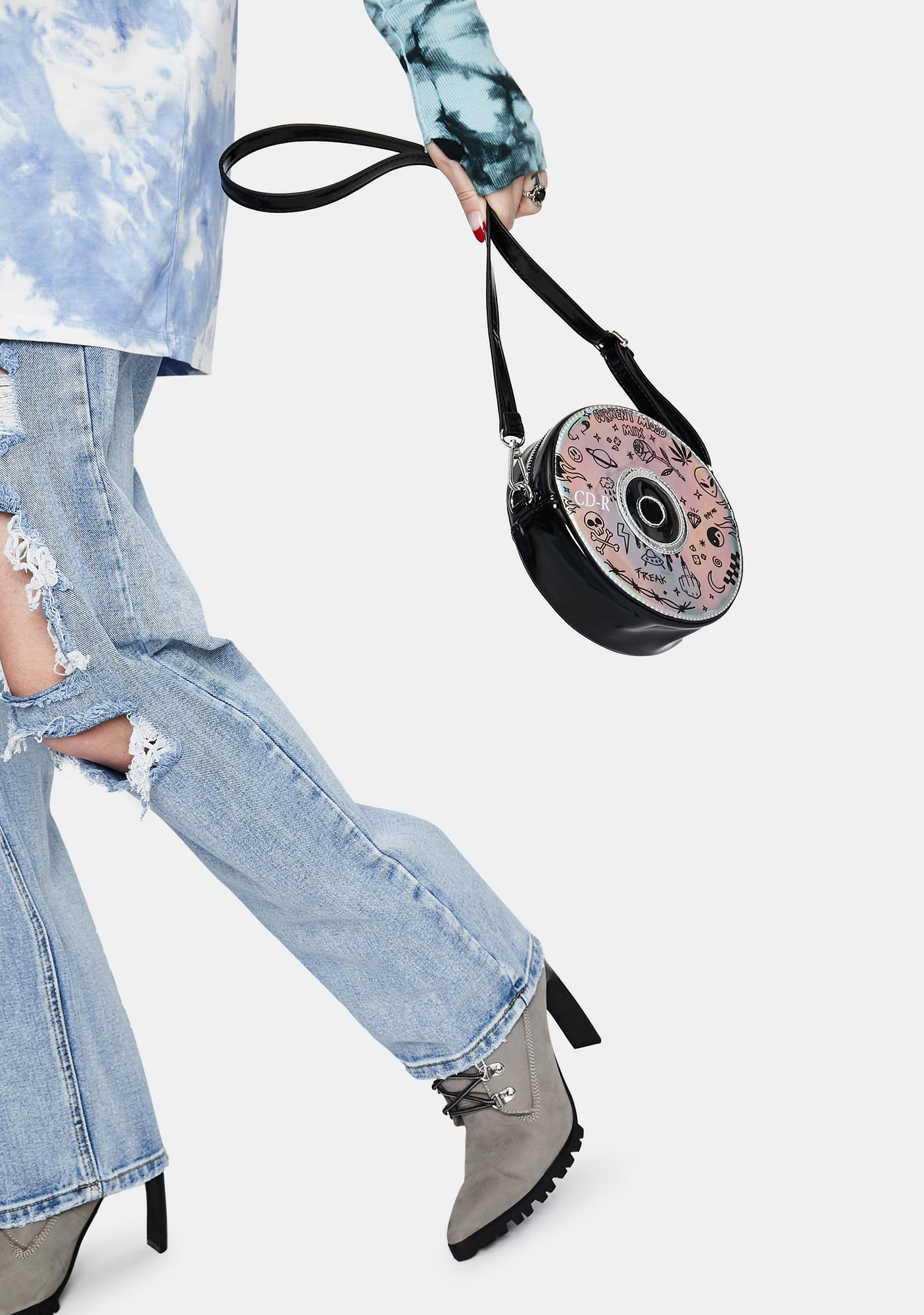 Current Mood Play The Track Holographic CD Bag
