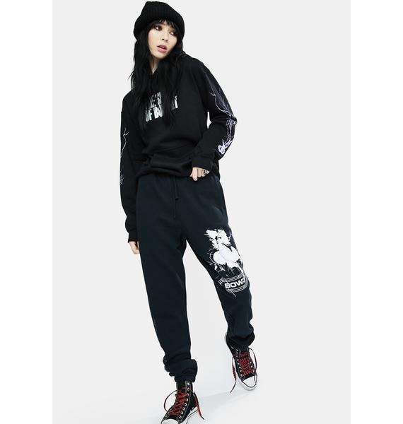 BOW3RY Pale Horse Graphic Sweatpants