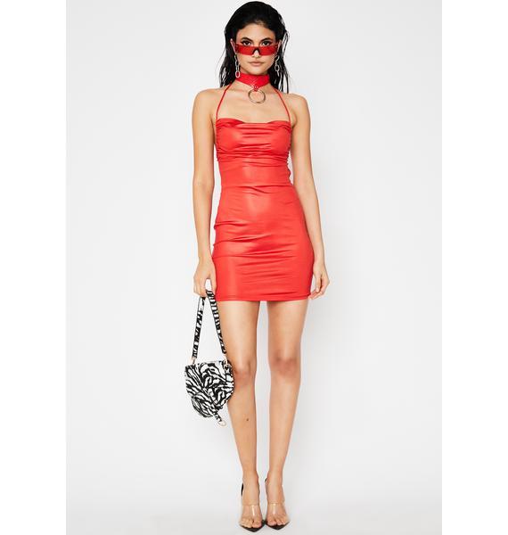 Too Hott Couture Halter Dress