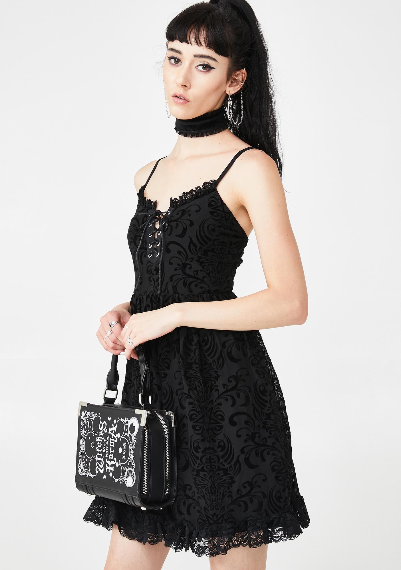 Killstar Scarlight Mini Dress