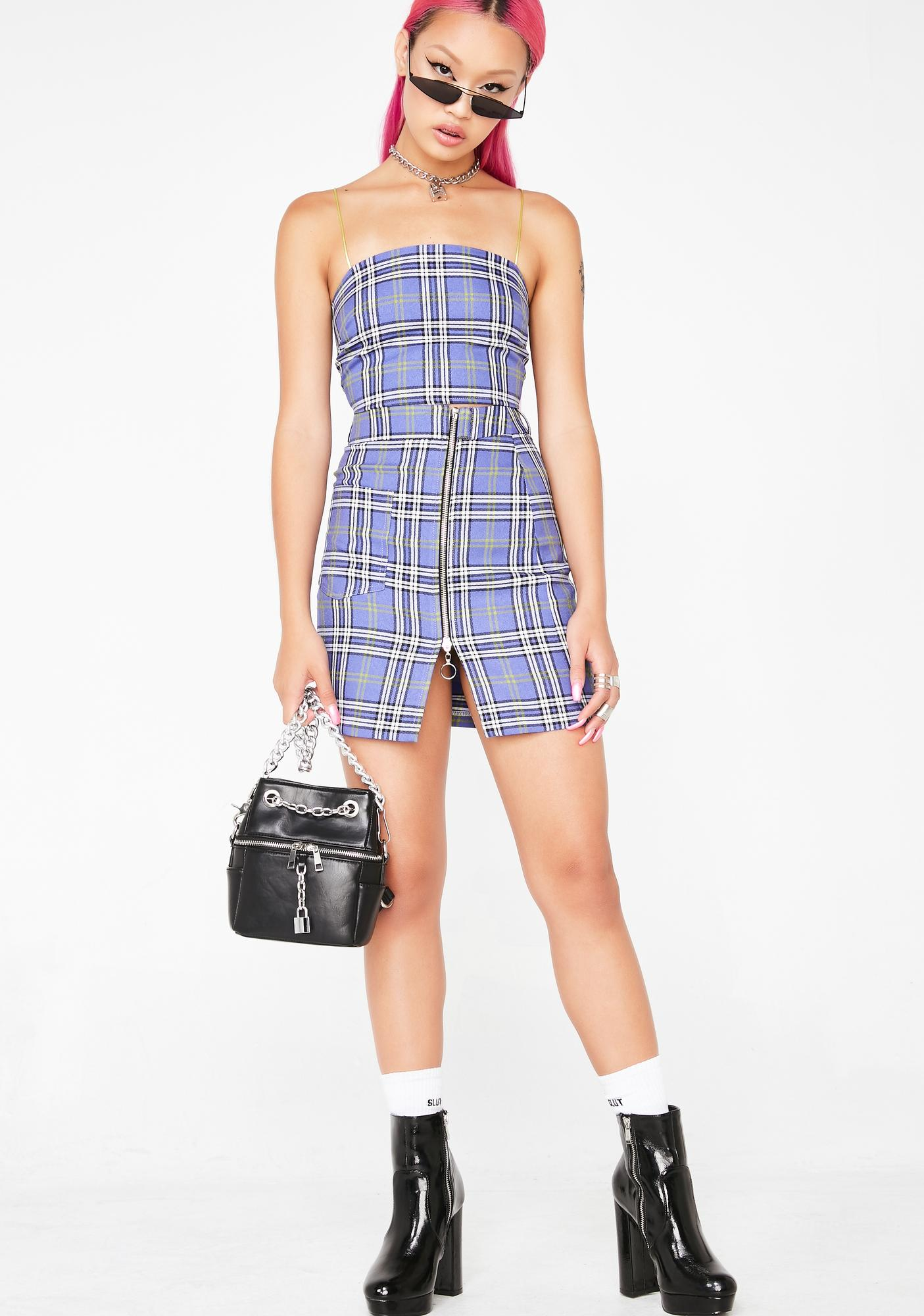 Local Heroes Charlotte Plaid Skirt