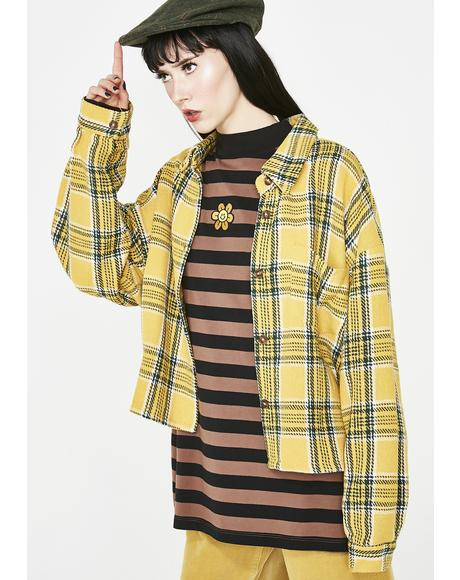 Black N' Brown Stripey Long Sleeve Tee