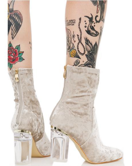 Velvet Saturn Boots