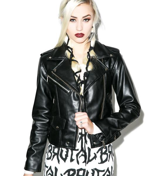 Killstar Vegan Biker Jacket