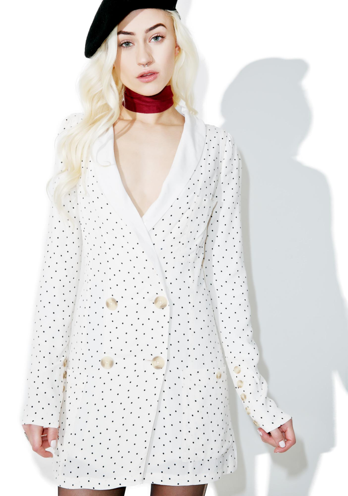 For Love & Lemons Bianca Blazer Dress