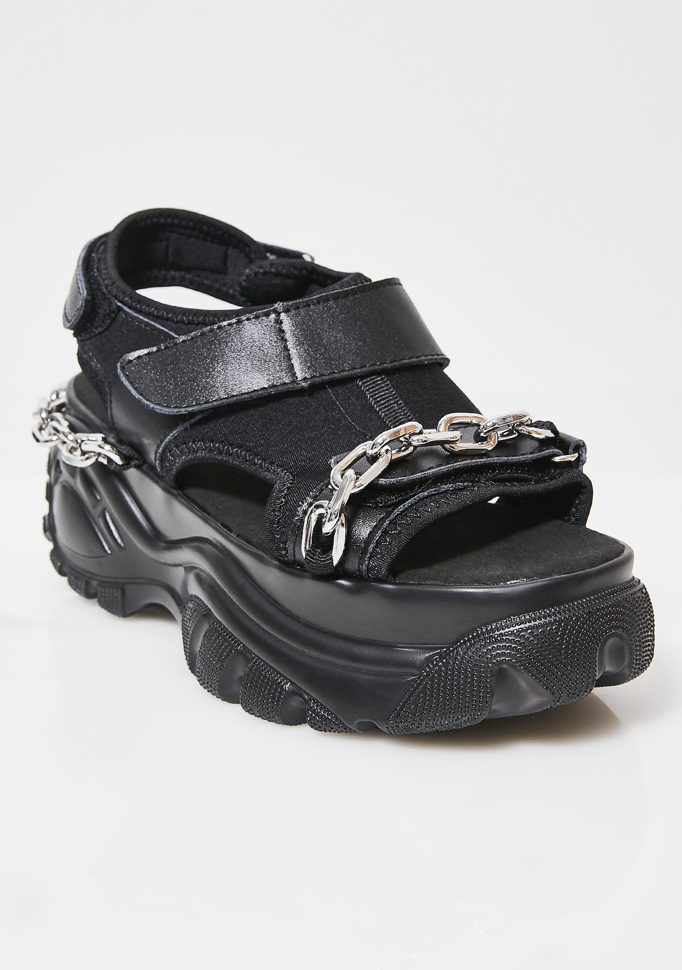 I AM GIA Dark Rylie Platform Sandals