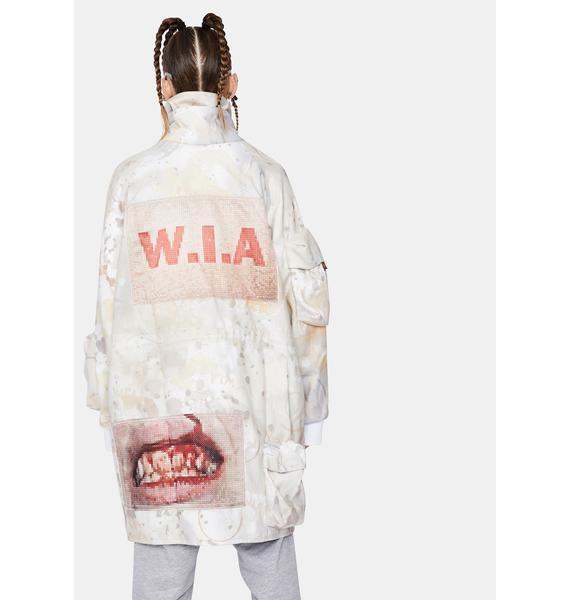 W.I.A Flight Oversize Jacket