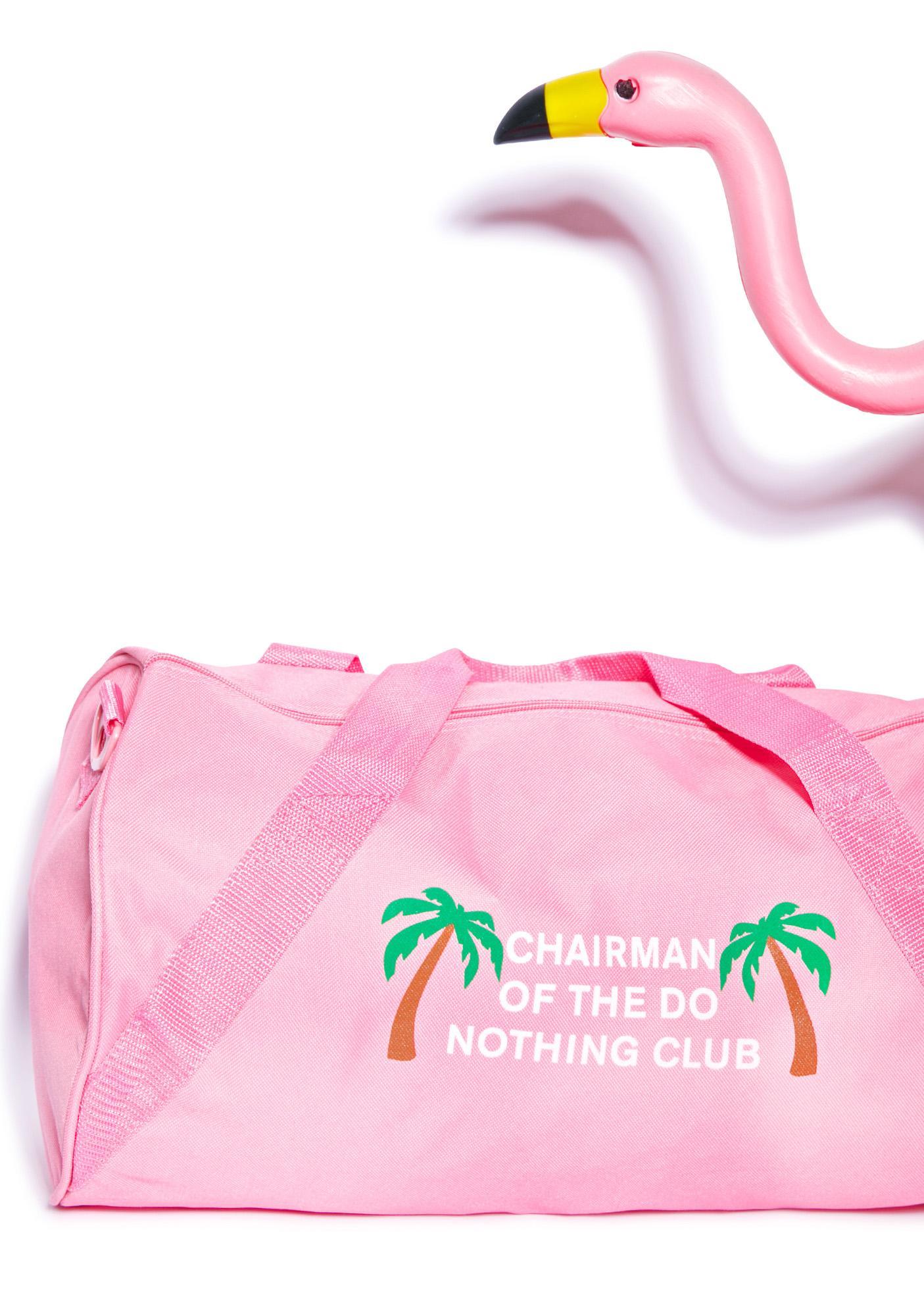 Danielle Guizio Chairman Of The Nothing Club Duffle Bag