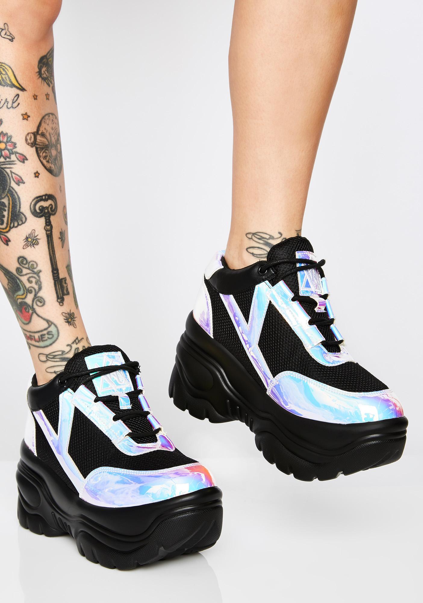 Y.R.U. Atlantis Matrixx Platform Sneakers