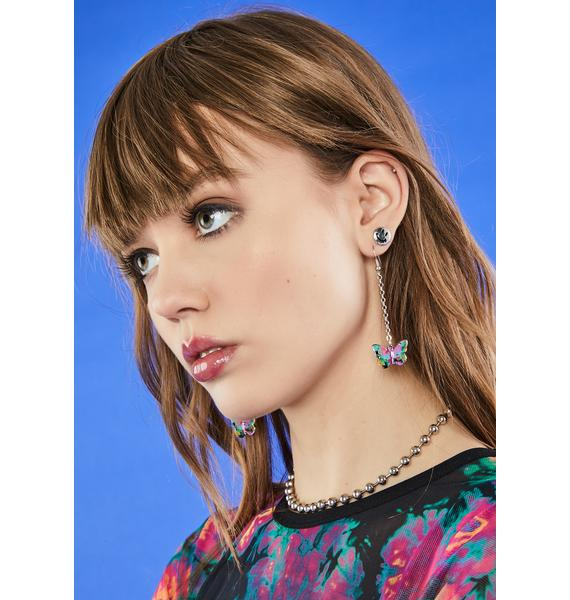 Fly So High Chain Earrings