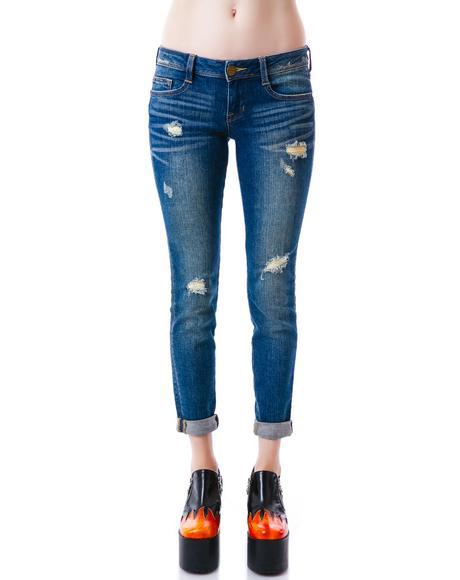 Rollin Up Skinny Jeans