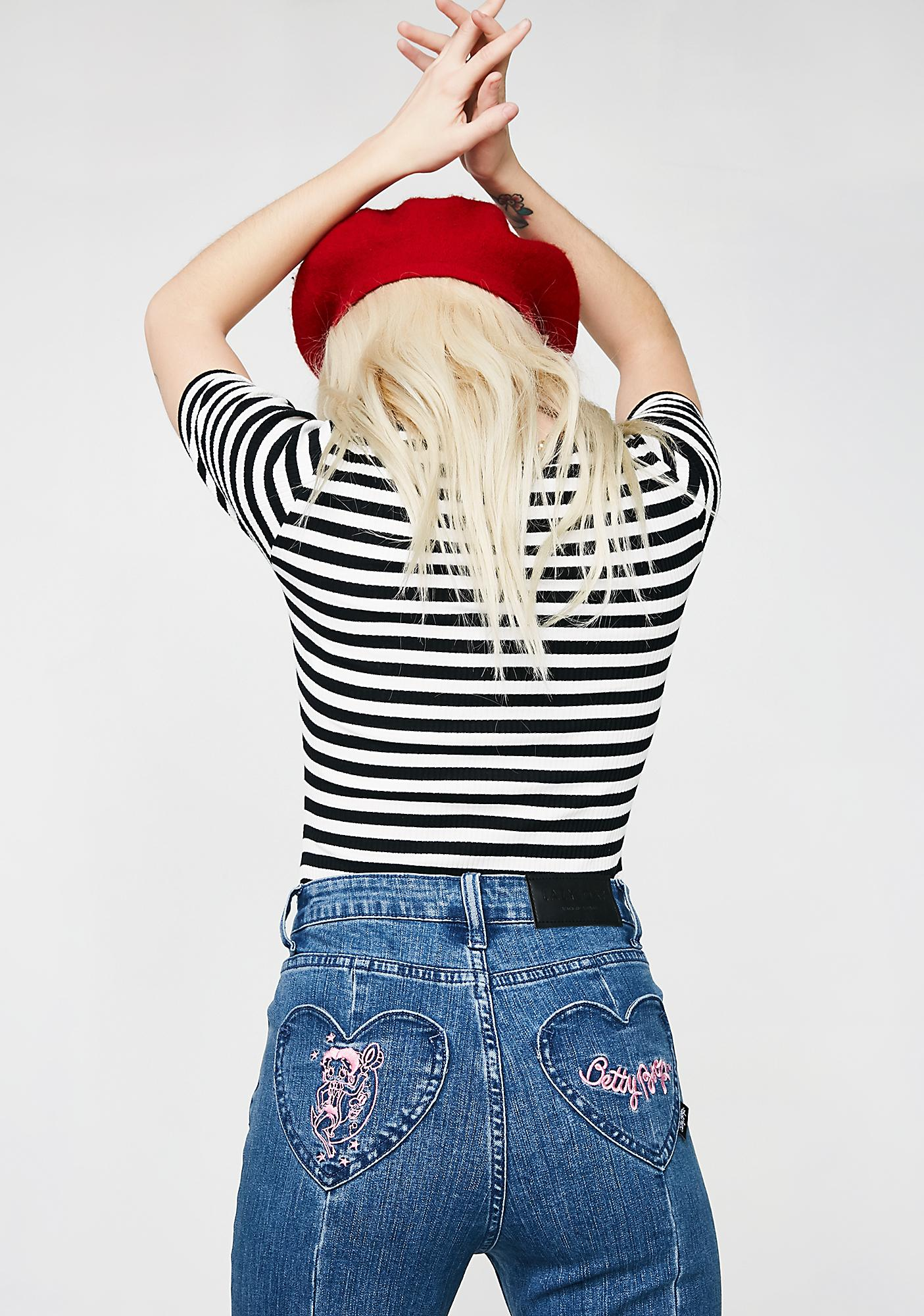 Lazy Oaf Betty Boop Pinup Jeans