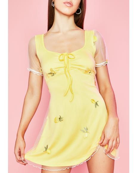 I Got The Juice Babydoll Dress