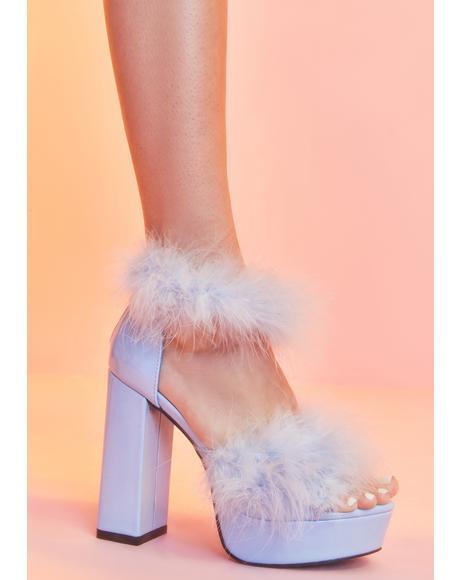 Opening Number Marabou Heels