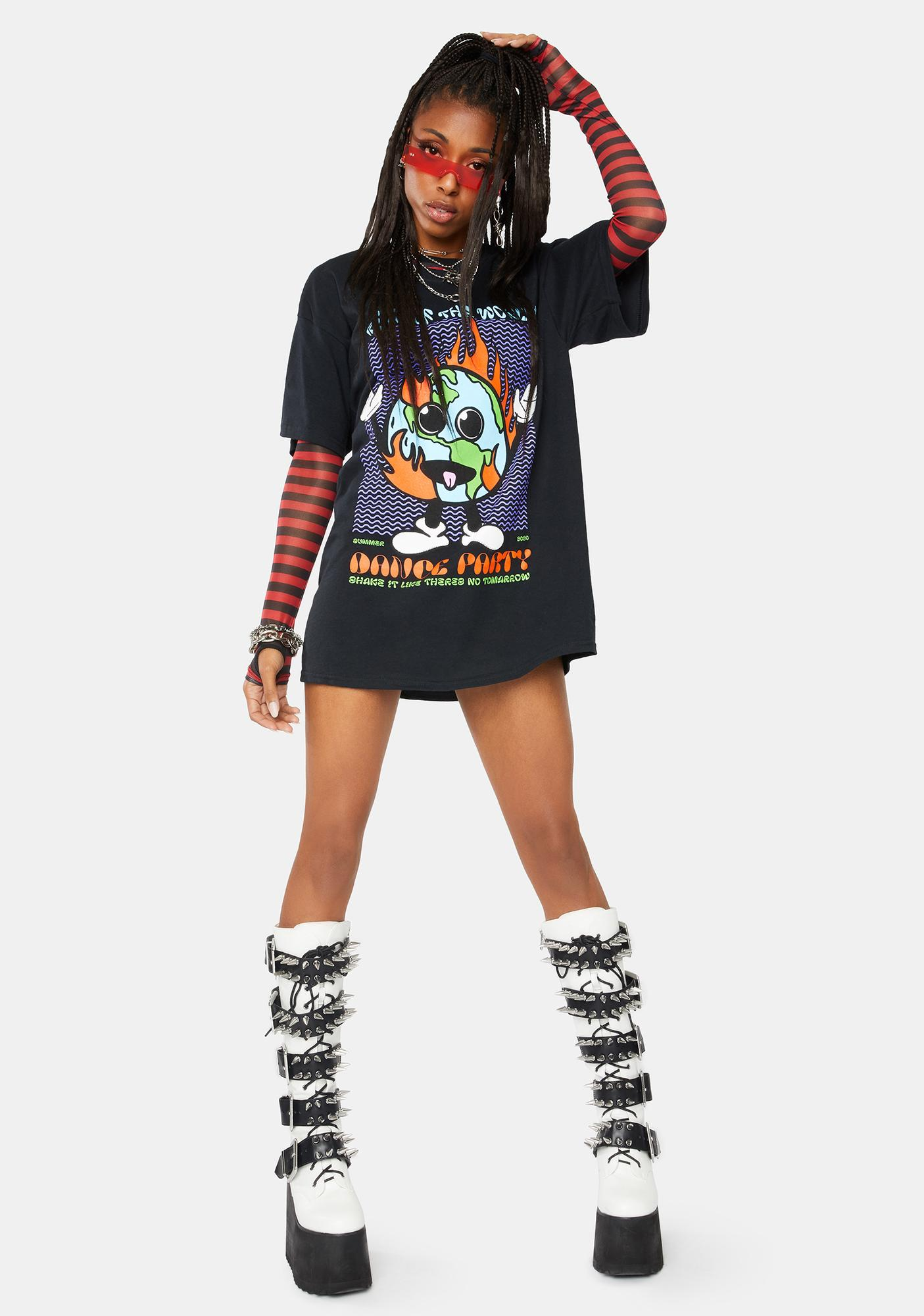 Partee Supplies Dance Party Graphic Tee