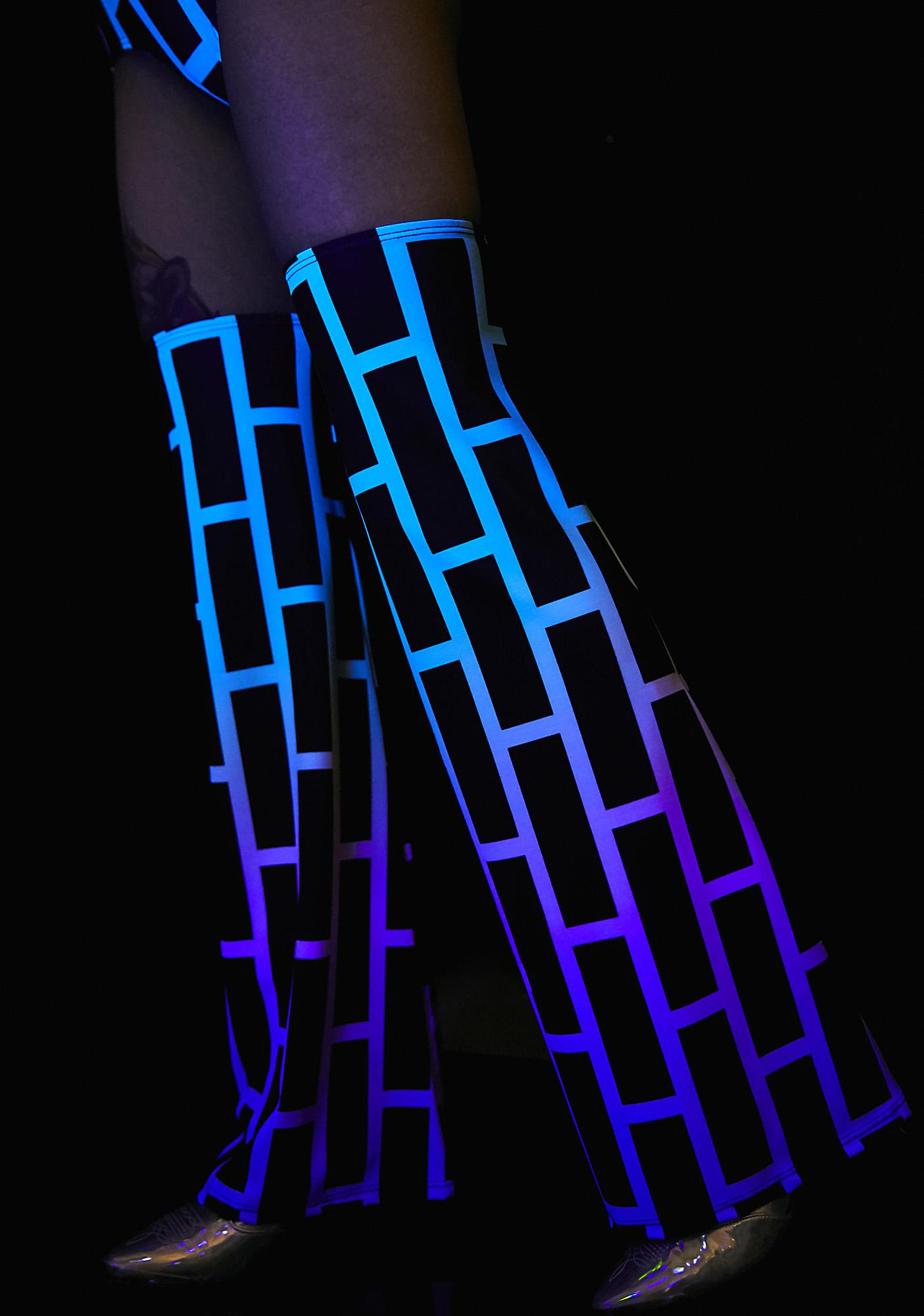 Alice Vandy UV Bubblewall Legwarmers