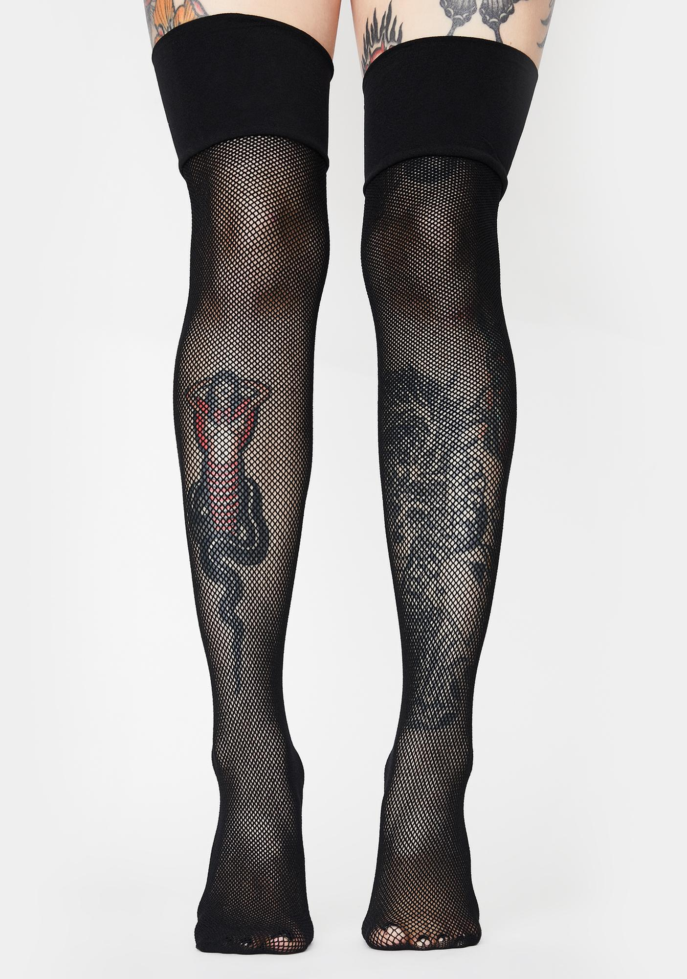 Scream My Name Fishnet Tights