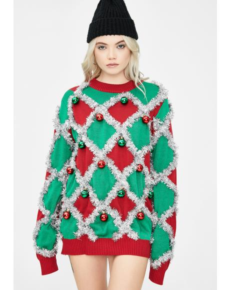Caribrew Tinsel Sweater