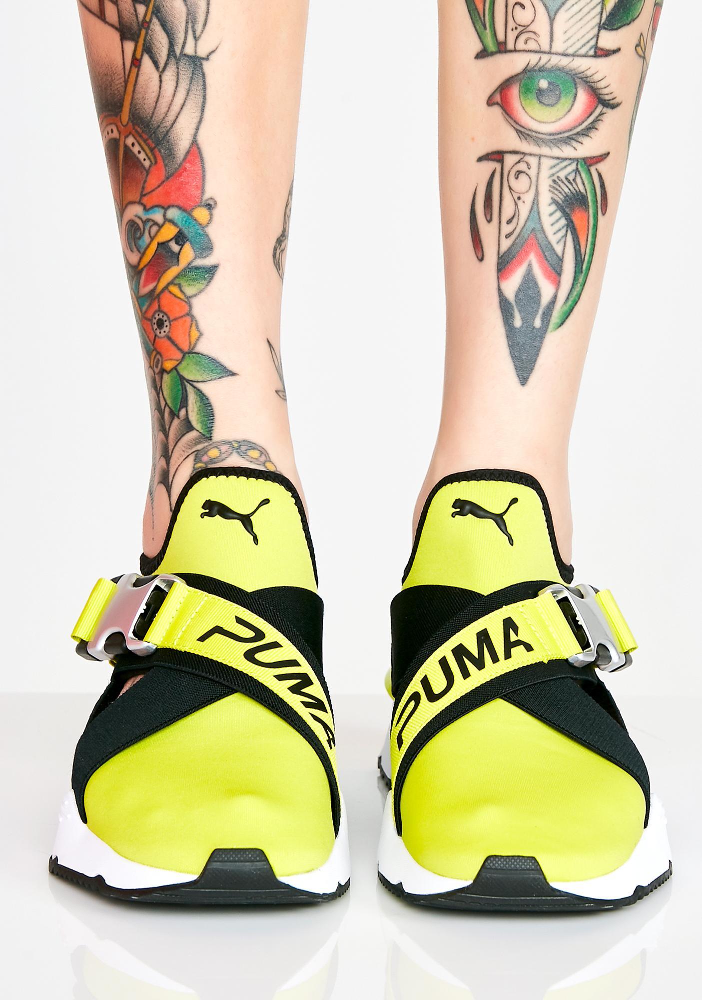 puma cut out sneakers Sale a9063748a