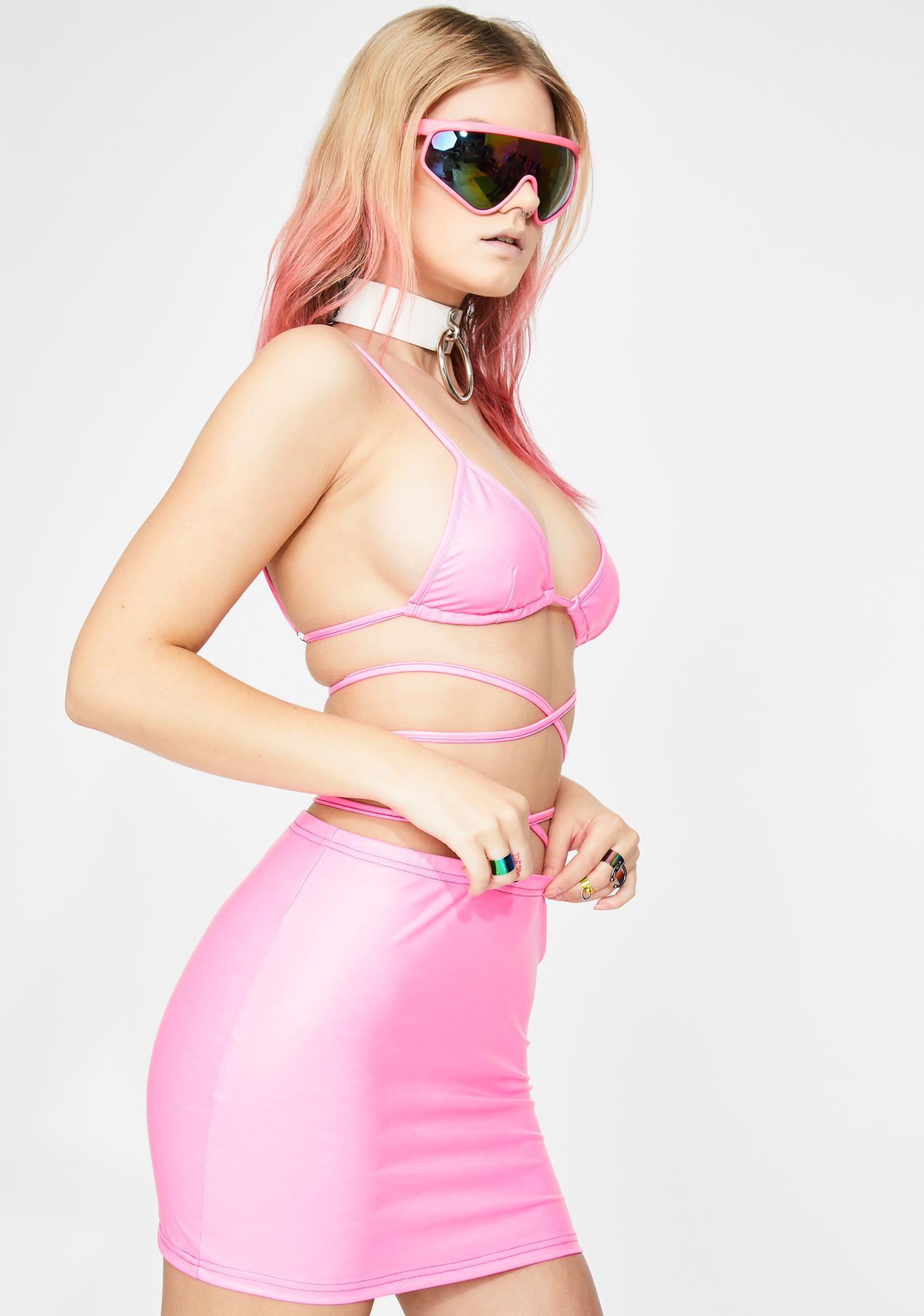 Club Exx Sugar Fairy Mini Skirt