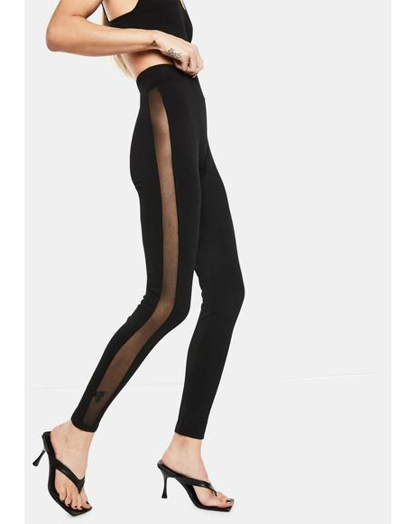 Dance Workout Mesh Leggings