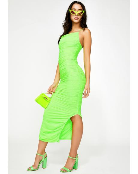 Atomic Certified Sassy Midi Dress