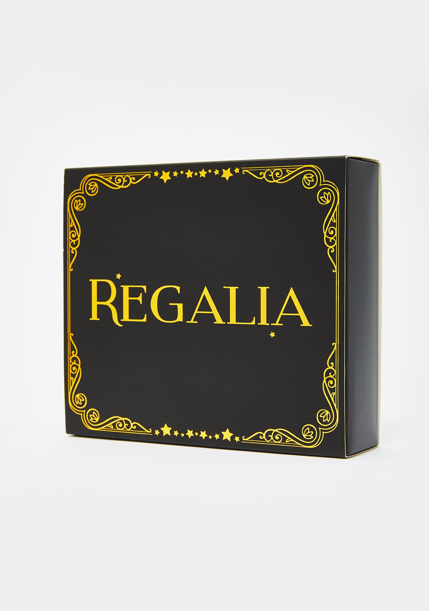 Regalia Chain Vinyl Circle Pasties