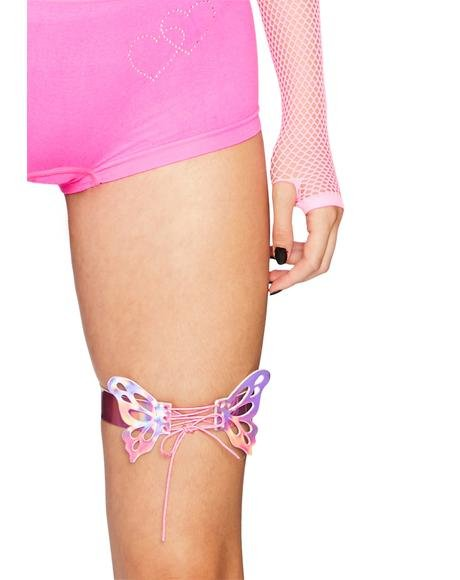 Butterfly Kingdom Garter Set