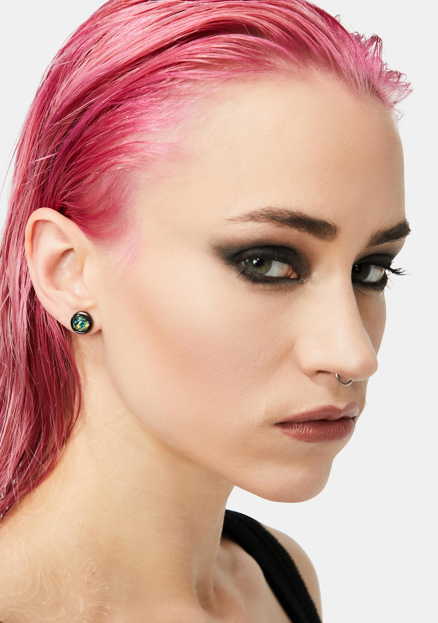 Girl In The Moon Stud Earring Set